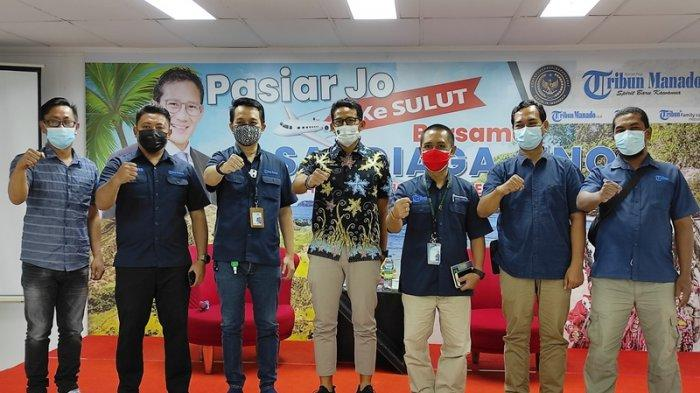 KetikaSandiaga Uno di Tribun Manado: Minum Kopi, Berbagi Pantun dan Strategis Pengembangan Wisata
