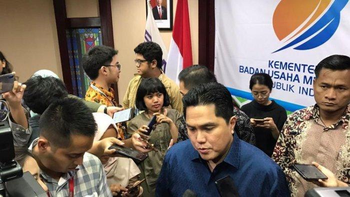 Menteri Erick Thohir Ungkap Sederet BUMN yang Anjlok karena Covid-19, Puluhan Perusahaan Dipangkas