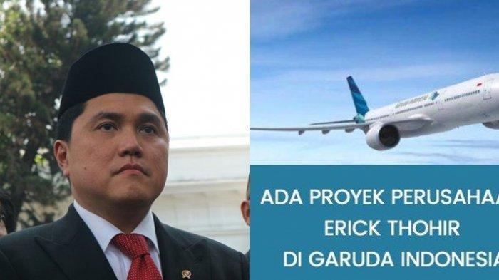 TERUNGKAP di ILC TV One, Erick Thohir Punya Proyek di Garuda Indonesia, Arya Sinulingga Emosional