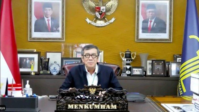 Menteri Hukum dan Hak Asasi Manusia, Yasonna Laoly