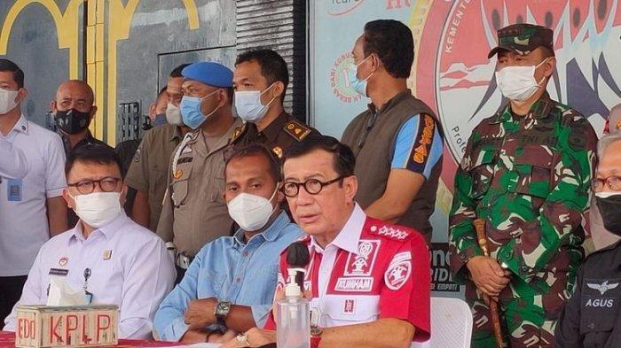 Pernyataan Menkumham Yasonna Laoly Terkait Kebakaran di Lapas Kelas 1 Tangerang