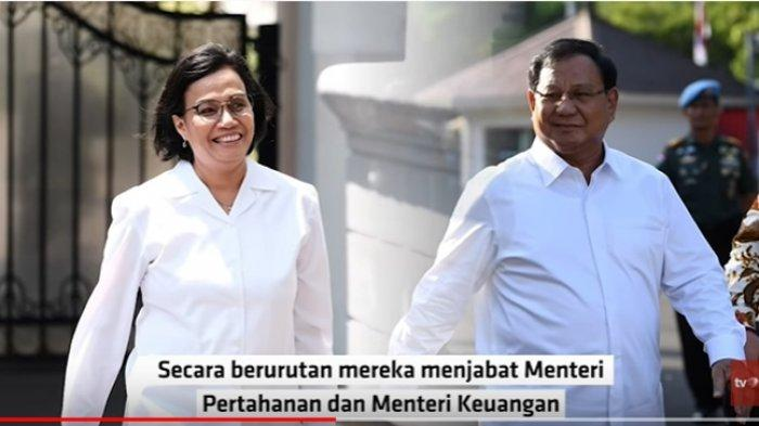 Dulu Prabowo Sebut Sri Mulyani sebagai Menteri Pencetak Uang, Kini Berkata Baik-baik pada Ibu Ini