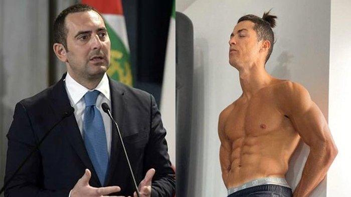 Cristiano Ronaldo Disindir Menteri Olahraga Italia, Spadafora: Dia Pelanggar Protokol Kesehatan