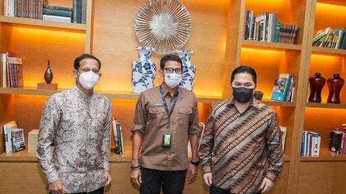 Destinasi Berbasis Cagar Budaya, Menparekraf Katakan Kementerian BUMN dan Kemendikbud Siap Dukung