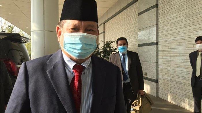 Cerita Saat Prabowo Subianto dengan Sabar Menunggu Hasil Tes PCR Bawahannya