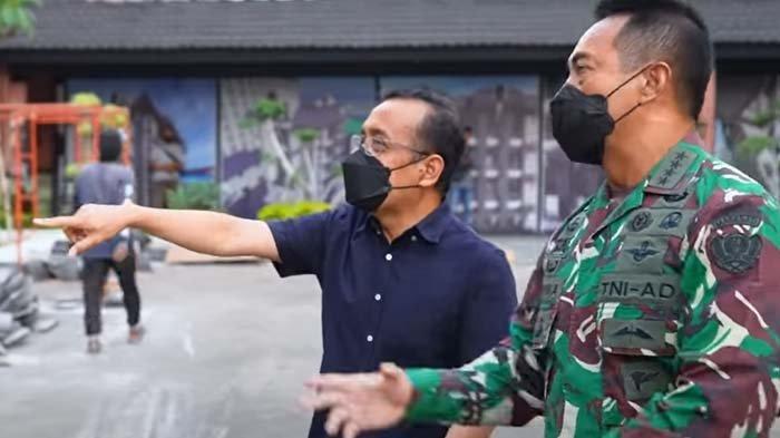 Pertemuan Pratikno dan Jenderal Andika Menjadi Sorotan, SinyalJadi Panglima TNI atau Calon Menteri?