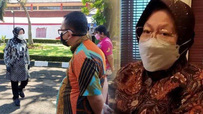 Menteri Sosial Risma Marah Pegawai Kemensos di Bandung.