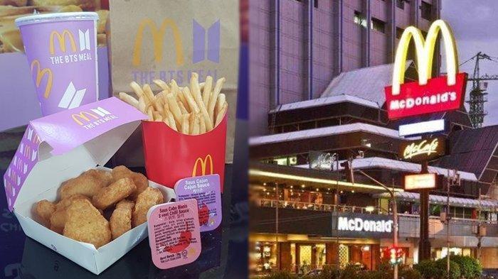 Menu BTS Meal, McDonald's.