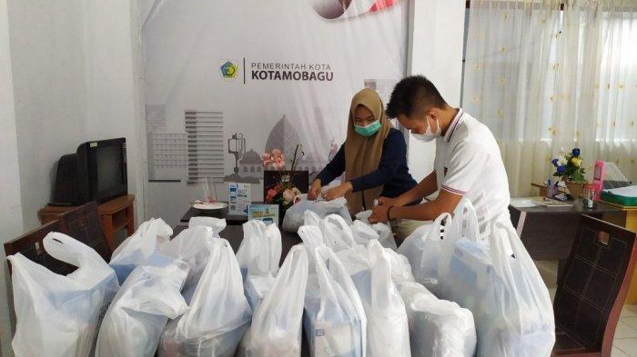 Dinkes Kotamobagu Siapkan Ribuan Masker Bagi Jamaah yang Ikut Salat Id Berjamaah