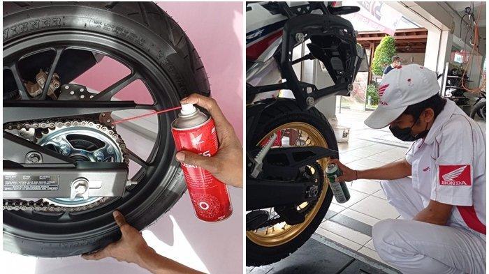 Penting buat Bikers, Begini Cara Rawat Rantai Roda Sepeda Motor Honda