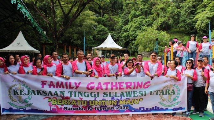Meriah, Kejati Sulut Gelar Family Gathering, Ini Harapan Kajati