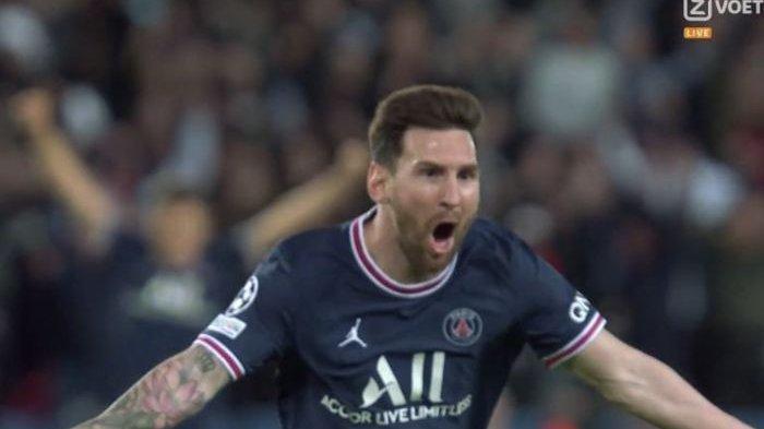 Skor Akhir PSG VS Manchester City di Liga Champions Tadi Dini Hari, Lionel Messi Cetak Gol