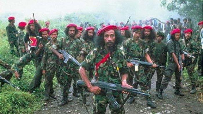 Milisi Fretilin yang merupakan milisi separatis yang jauh lebih terkoordinasi daripada KKB Papua