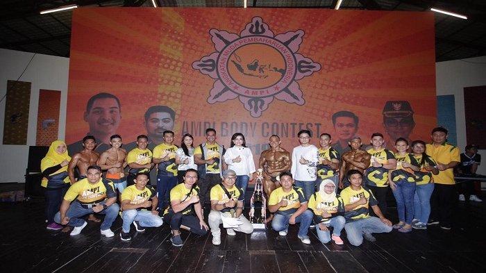 Perebutkan Piala Bupati Minsel dan AJP, Event Body Contest AMPI Sulut Berlangsung Spektakuler