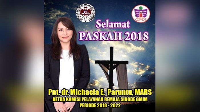 7 April Selebrasi Paskah Remaja GMIM, Michaela Paruntu: Jangan Tidur Larut Malam