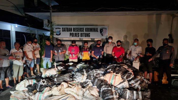 Beli Rp 400 Ribu Jual Rp 1,5 Juta Per Galon, Modus Peredaran Miras Cap Tikus dari Sulut ke Papua