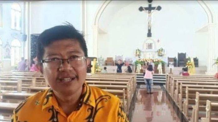 Misa Jumat AgungGereja Katolik St Petrus Rasul Parepare Digelar via Live Streaming