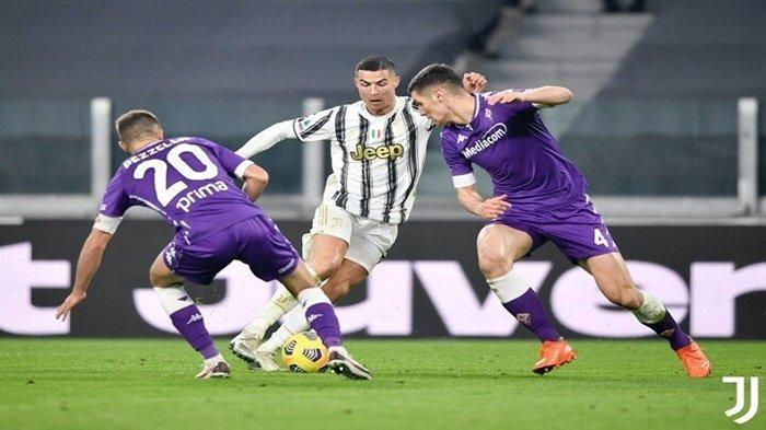 SEMENTARA BERLANGSUNG Liga Italia Juventus vs Viorentina, Nyonya Tua Tertinggal 0-1