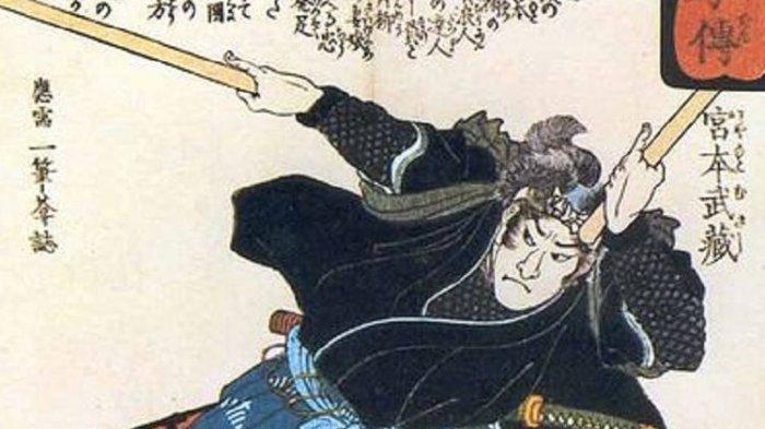 Kisah Musashi Miyamoto Samurai Terhebat Jepang, Kalahkan Ahli Pedang Dengan Kayu Dayung