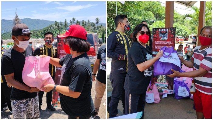 Majelis Kebudayaan Minahasa Kota Bitung Kembali Lakukan Aksi Sosial untuk Petugas di TPA