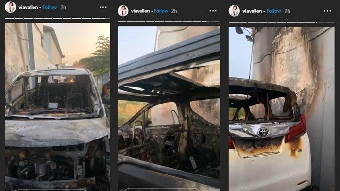 Pelaku Pembakaran Mobil Via Valen Pura-pura Gila, Sengaja Membakar Pakai Bensin dan Korek Api