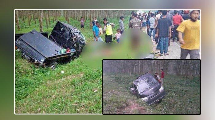 Kecelakaan Maut, 12 Orang Luka-luka dan 3 Tewas, Mobil Pick Up Hilang Kendali, Ini Nama-nama Korban