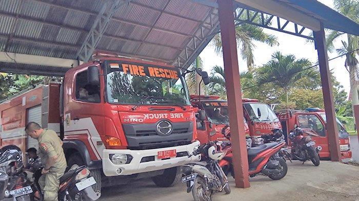 Pemadam Kebakaran Kotamobagu Tak Dilatih, Sejak Dulu Belajar Sendiri Menggunakan Alat Pemadam