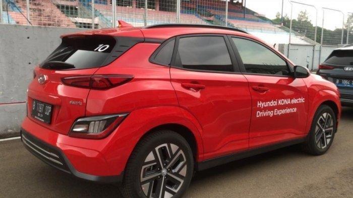 Mobil Listrik SUV Hyundai Kona Dicoba di Sirkuit, Mampu Capai 120 Kilometer per Jam