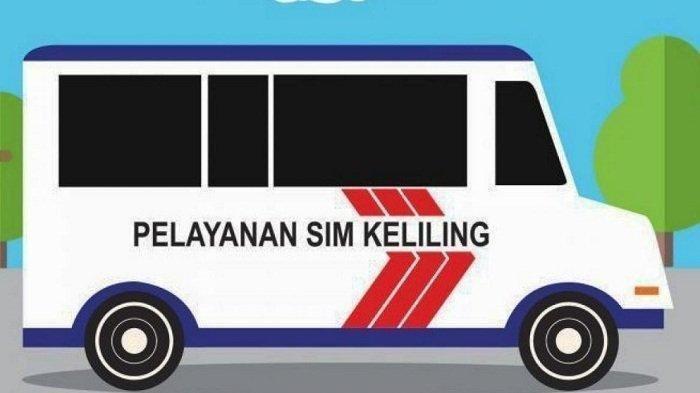 SIM Keliling Hari Ini Kamis 6 Agustus 2020, Lokasi Pelayanan di Jakarta