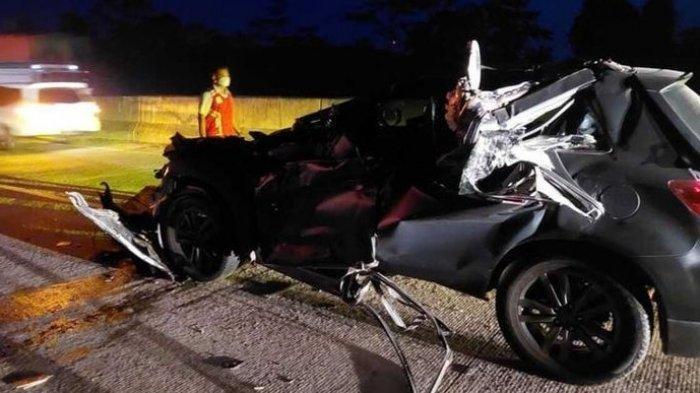 Kecelakaan Tadi Malam, Wakapolres Alami Luka Serius, Mobil Dinas Tertabrak Truk yang Pindah Lajur