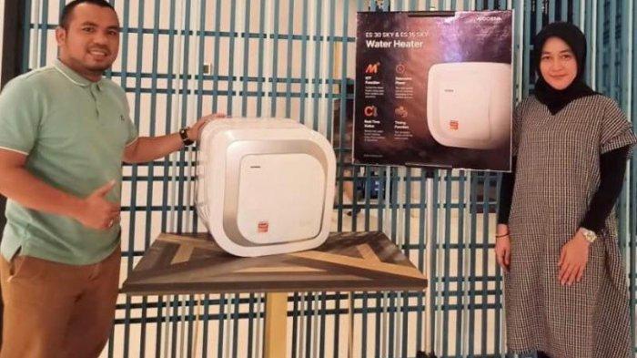 Modena Hadirkan Water Heater Berteknologi IoT, Bisa Dikontrol via Smartphone