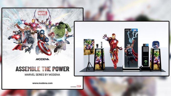 MODENA Sasar Pasar Millenial, Hadirkan Produk Edisi Khusus Bertema Superhero Marvel