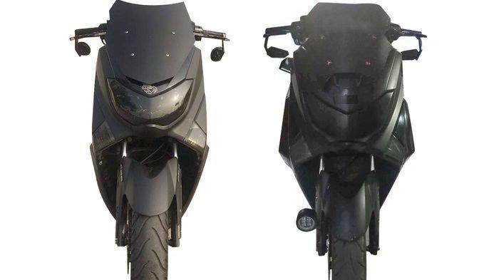 Modifikasi Yamaha NMAX Edisi Night Rider Hitam Doff yang Bikin Sangar dan Winshield Runcing Garang