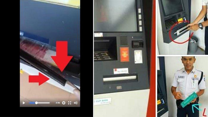 VIDEO Cara Baru Para Penjahat Bobol ATM, Uang Diambil Tanpa buat Saldo Rekening Berkurang