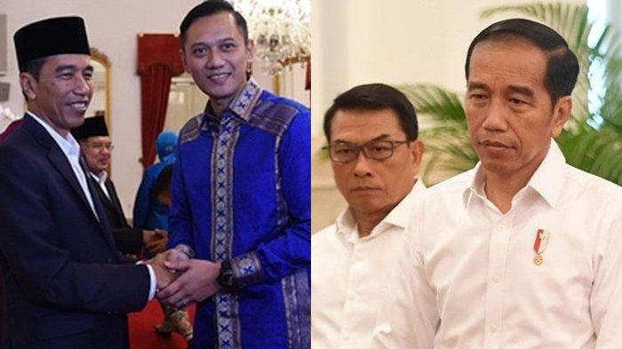 Moeldoko Kudeta AHY, Jokowi Kena Kritik: 'Presiden, KSP Bukan Mainan Politik'