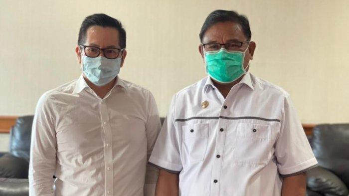 Wabup Talaud Temui Direktur Utama Lion Air Bahas Jadwal Penerbangan Manado-Talaud