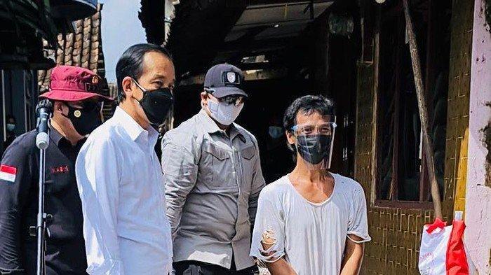 Momen Unik Joko Widodo Saat Bertemu Presiden Jokowi, Sampai Nangis Sebelum di Suntik Vaksin Covid-19