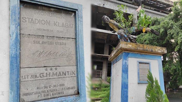 Monumen Stadion Klabat, Simbol Kejayaan Sepakbola Sulut yang Kini Merana