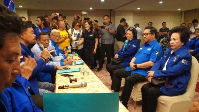 Mor Bastiaan Daftar di Partai Demokrat Sebagai Calon Wali Kota Manado