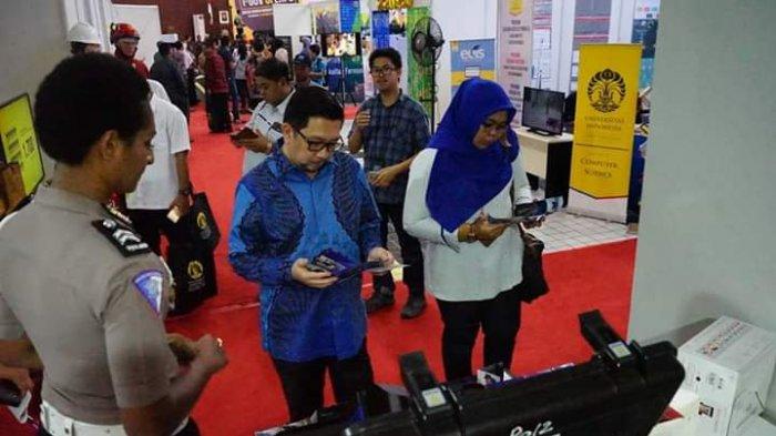 Wawali Manado Mor Bastiaan Hadiri I-Gov Universitas Indonesia Expo 2018