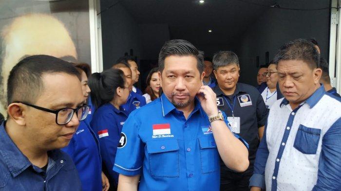 Mor Bastian Daftar Calon Wali Kota Manado di Nasdem, Singgung Figur Lain Baru Mau Belajar