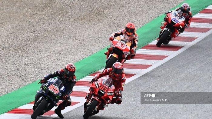 Hasil FP1 MotoGP Aragon 2021: Marquez Jawara, Rossi Terjatuh