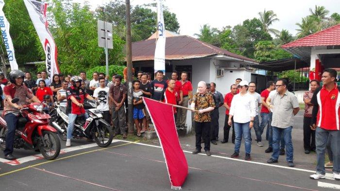 Lomba Motor Lambat di Tagulandang, Pemenang Dapat Hadiah SIM C Plus Uang