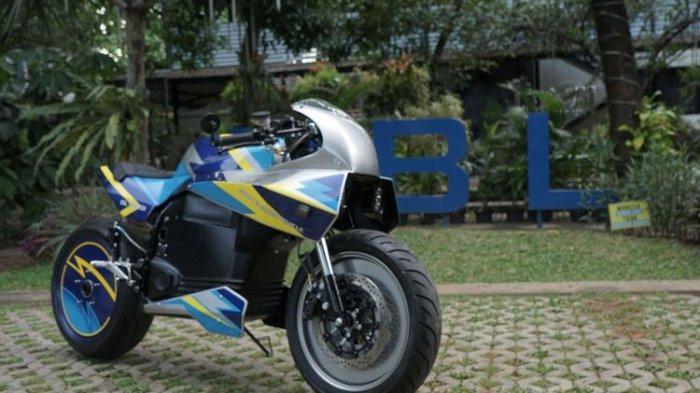 Motor Listrik BL-SEV01 Dirilis Universitas Budi Luhur,Berdesain Neo Cafe Racer, Mampu Capai 110 Km