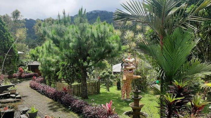 Moutain View Resort yang berada di Kelurahan Kinilow, Kecamatan Tomohon Utara, Kota Tomohon Sulawesi Utara.