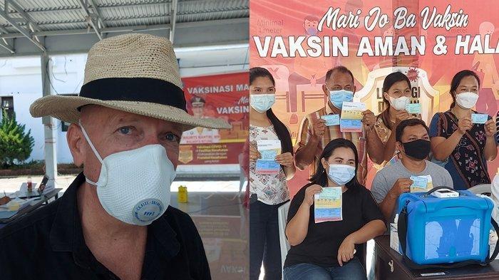 Pandemi Covid-19, Mr Rob Sinke Owner Divers Lodje Cerita Dirinya Sampai Harus Jual Mobil