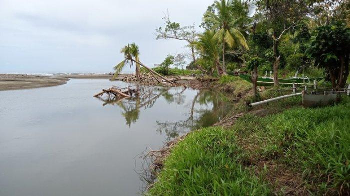 Pantai Bubuan Buyat Kabupaten Boltim Terancam Abrasi