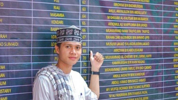 Muslim Lakadjo, Pemuda Asal Kecamatan Helumo Bolsel, Kini Kantongi Gelar Hafids Qur'an