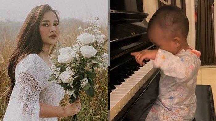 Usia 14 Bulan, Anak Mendiang Glenn Fredly Gewa Tampak Asyik Main Piano, Mutia Ayu Curhat Haru