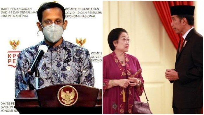 Nadiem Makarim Posting Temui Megawati di Teuku Umar, Bicarakan Pelajaran Pancasila dan Bahasa